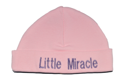 Babymutsje Little Miracle roze