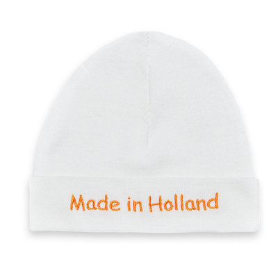Babymutsje Made in Holland (ecru)